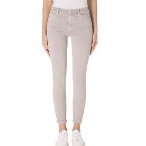 J Brand 'Capri Mid Rise' Khaki Skinny Jeans 27